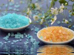 цветная соль