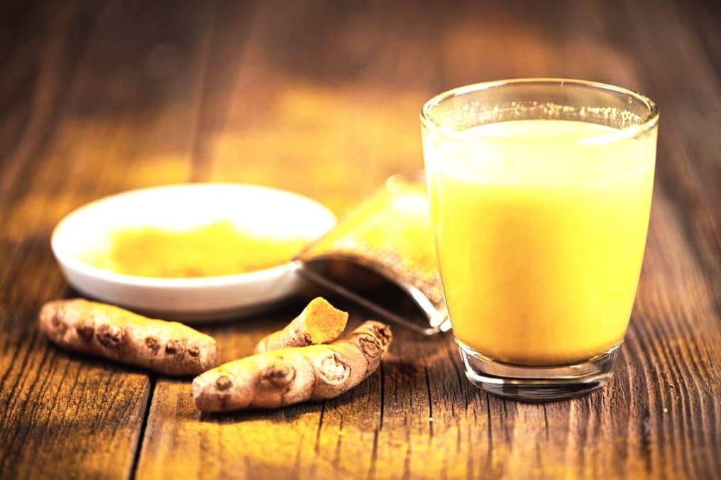 золотое молоко из куркумы